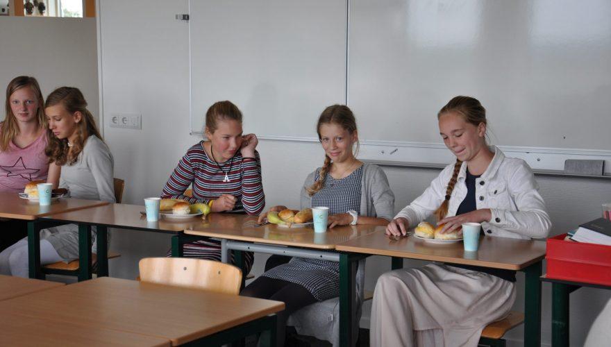 Lunch voor jonge mantelzorgers