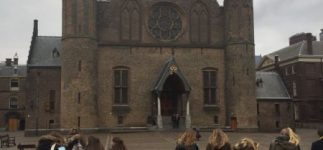 Leerlingen uit 3-havo/vwo brengen een bezoek aan Den Haag