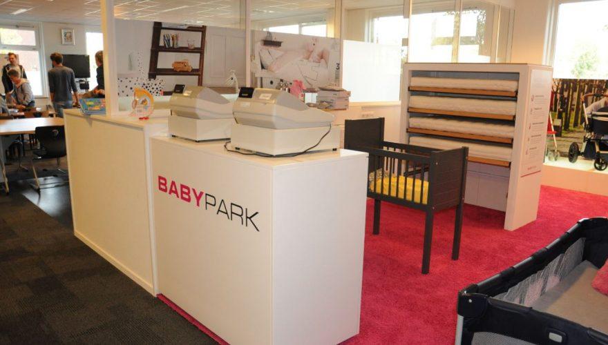 Winkelen in de Babyparkstore op het VLC