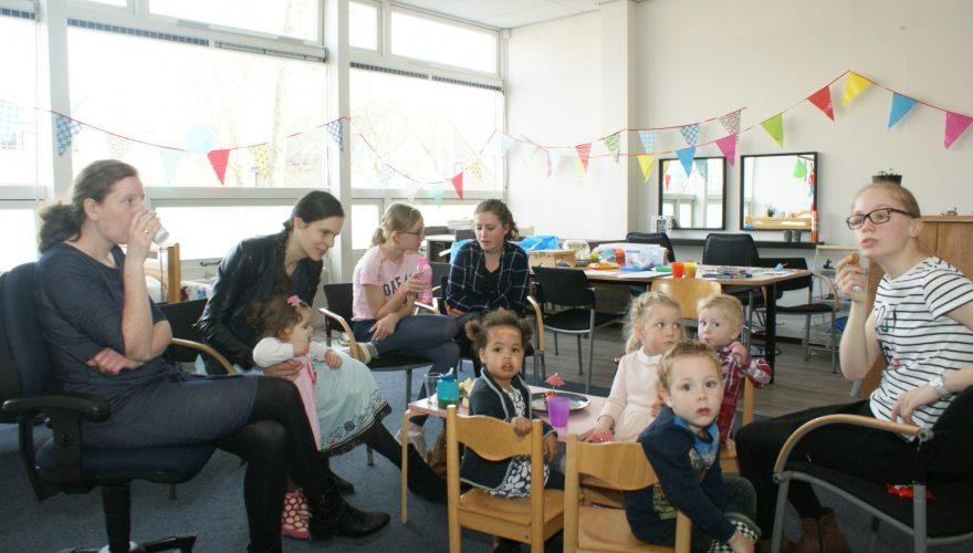 Leerlingen Praktijkonderwijs organiseren peutermorgen