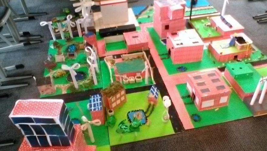 Het duurzame dorp van K1BA en K1BB