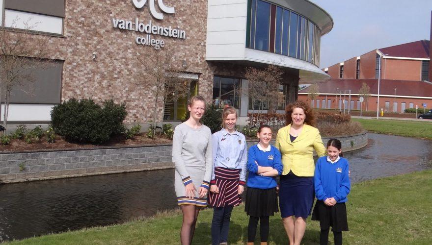 Bezoek studenten uit Schotland