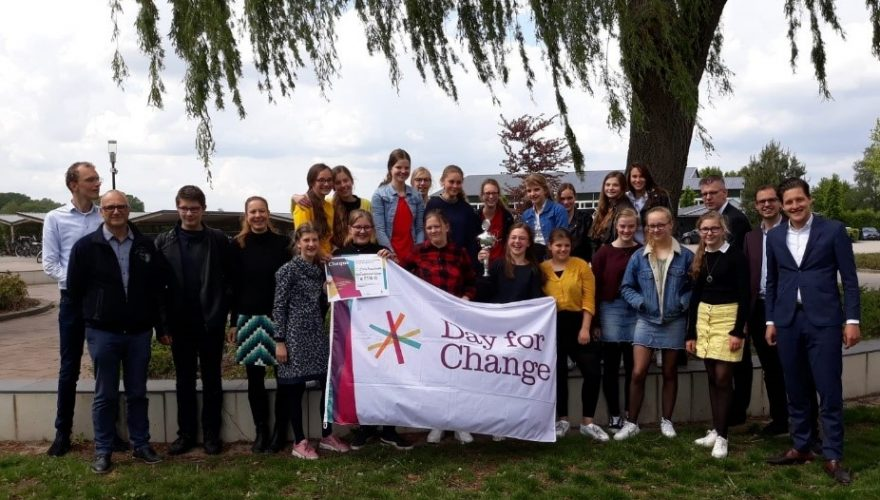 Betekenisvol onderwijs in Barneveld én 2.300 euro winst voor Day for Change